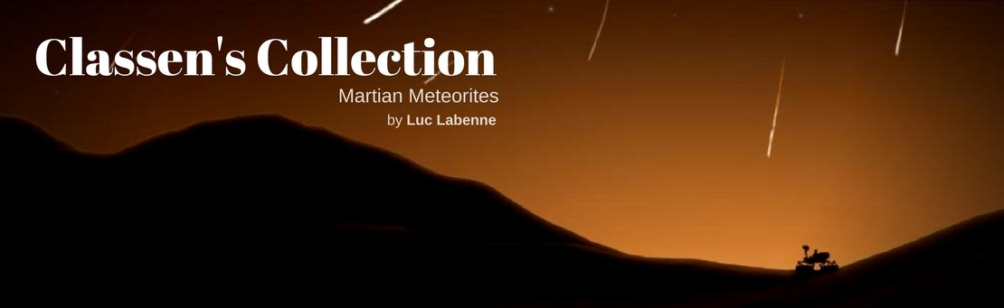 Classen's Collection : Martian Meteorites