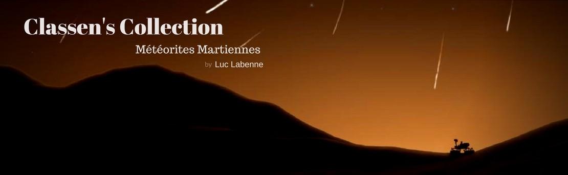 Classen's Collection : Météorites Martiennes